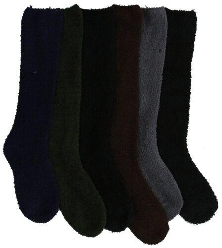 ToBeInStyle Women/'s Pack of 6 Designer Plush Knee High Length Socks
