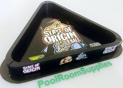 NRL Rugby League NSW V's QLD State of Origin POOL Snooker BALL TRIANGLE