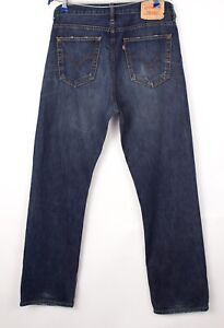 Levi's Strauss & Co Hommes 752 Jeans Jambe Droite Taille W36 L32 BCZ94