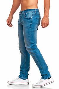 MADDU-Herren-Jeans-Hose-Freizeit-Clubwear-Slim-Fit-Jeans-Blau-215-NEU