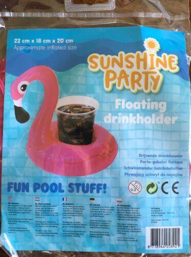 schwimmender getränkehalter Flamingo Pool