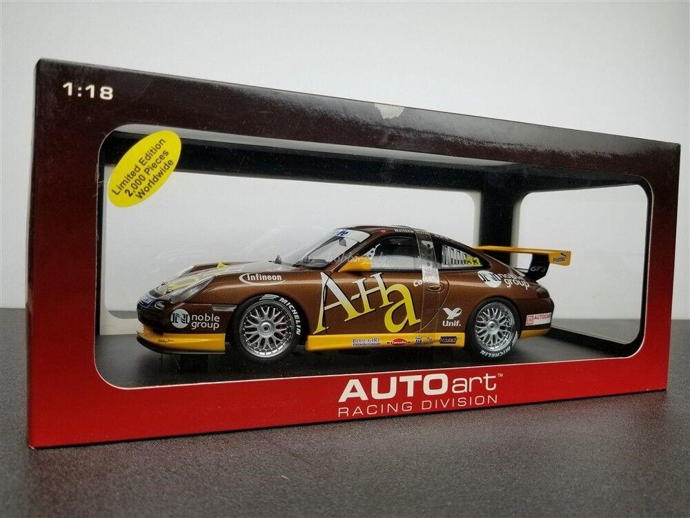 PORSCHE CARRERA 911 GT3 CUP CAR WINNER OF 2004 2004 2004 ASIA 1 18 BY AUTOART 80489A d37584