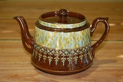 Vintage Gibson /& Sons Celt Black and Gold Teapot England