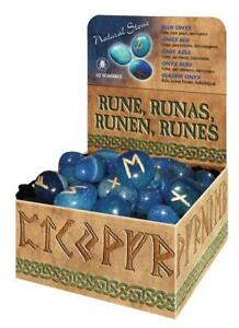 Blue-Onyx-Runes-Set-Includes-Bag-amp-Instructions