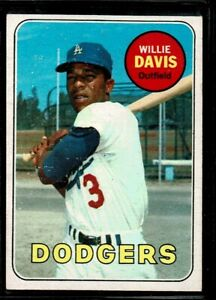 ghdonat.com Sports Collectibles Base Singles EX Dodgers 1968 Topps ...