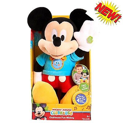 MINNIE MOUSE Singing Talking Bowtique Mickey Song /& Phrases Doll NEW-FREE SHIPPI