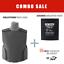 Bullet-Proof-Vest-Body-Armor-level-IIIA-3A-w-Ceramic-Ballistic-Plate-ROBO thumbnail 1