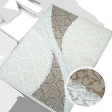 % Sale Teppich Hochwertig Acryl Wohnzimmer Ornamente Nisantasi Braun 80x150 cm