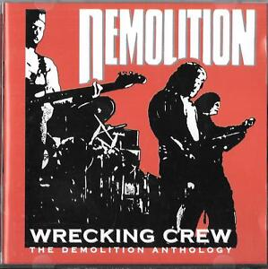 Demolition-Wrecking-Crew-The-Anthology-CD-Nwobhm-Iron-Maiden-Saxon-Blitzkrieg