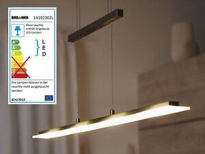 Led pendelleuchte pendellampe wohnzimmer b ro leuchte h ngelampe licht dimmbar ebay - Pendelleuchte buro ...