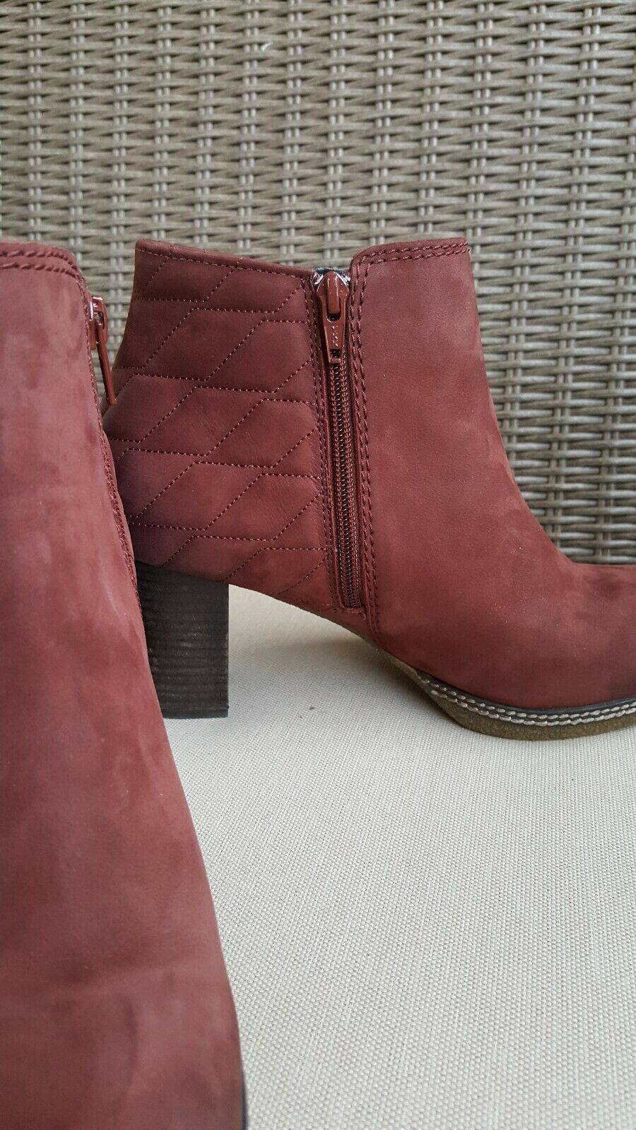 Women's GABOR Germany Germany Germany LEATHER Side-Zip 3  ANKLE BOOTS sz 7 e6fa63