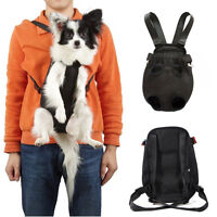 Nylon Pet Puppy Dog Carrier Backpack Front Net Bag Tote Carrier Sling Tote