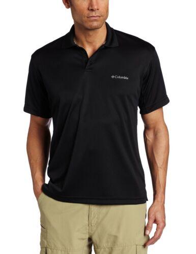 NEW Columbia Men/'s New Utilizer Polo Shirt Size L XL XXL UPF30 Black