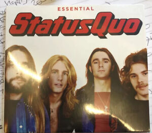 STATUS QUO THE ESSENTIAL 3-CD SET (Greatest Hits) New Sealed Digipak Free Post