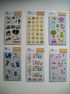 Fun-Stickers-For-Children-Six-Designs-to-Choose-From-Brand-New
