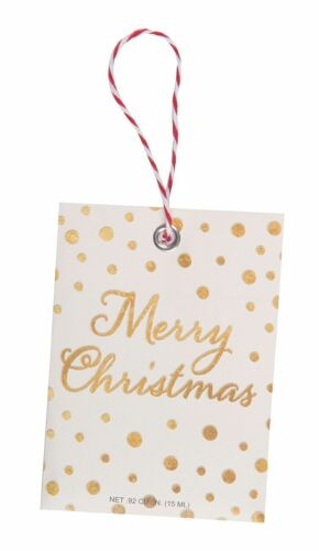 Merry Christmas Scented Sachet Gift Tag