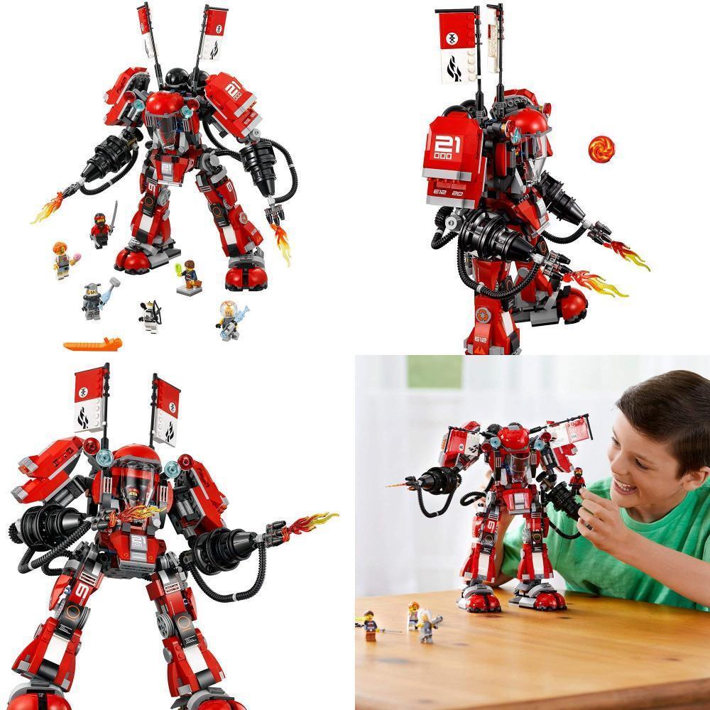LEGO Ninjago Movie Fire Mech (70615)  nuovo & SEALED   gratuito SHIPPING  forniamo il meglio
