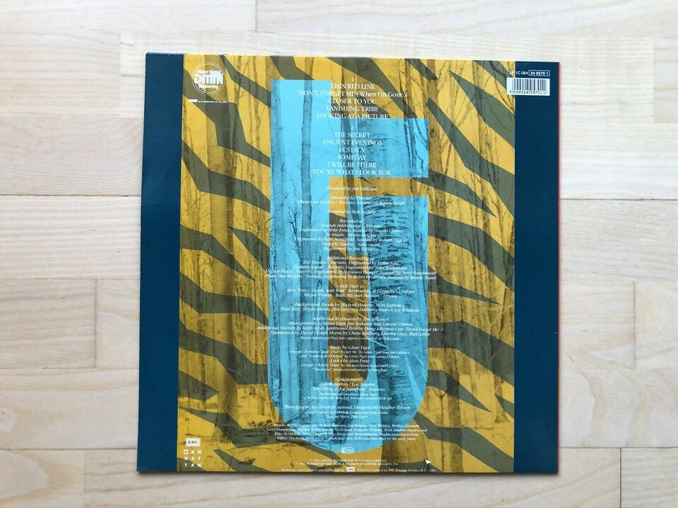 LP, Glass tiger, The Thin Red Line