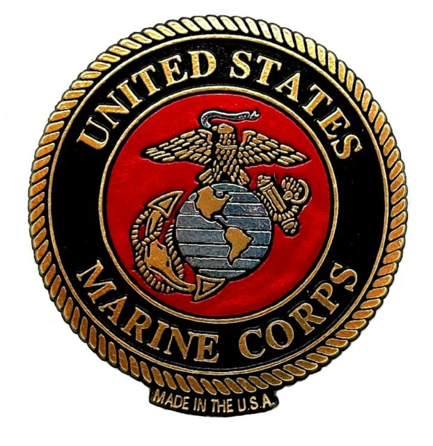 METAL DISHWASHER MAGNET U S Marine Corps Military Clean Dirty Dishes MAGNET