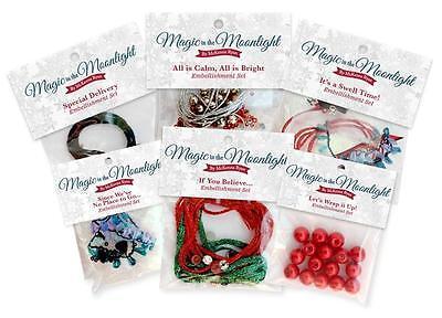 Magic in the Moonlight McKenna Ryan Pine Needles Christmas Embellishment Kit