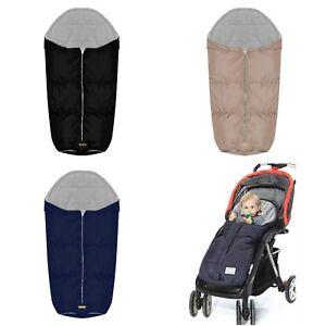 Universal Sleeping Bag Footmuff For Baby Pushchair Buggy Stroller ... 06c44874c73