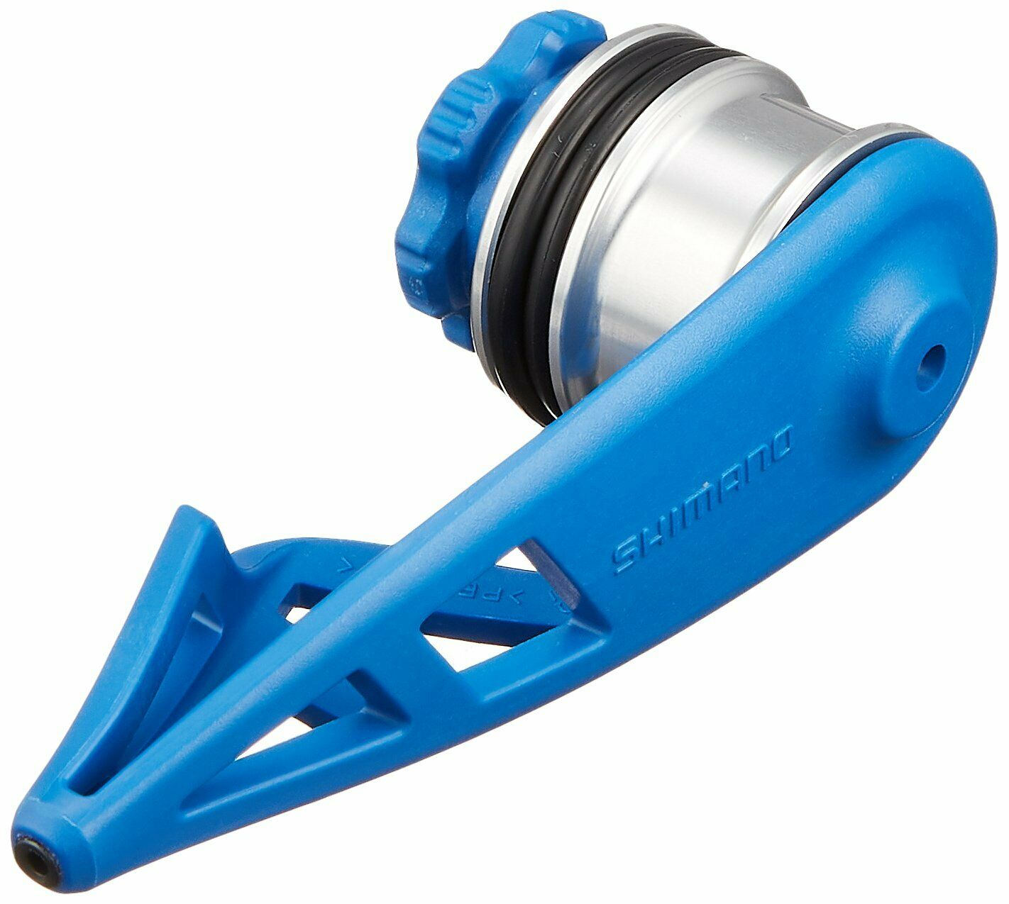 SHIMANO bobbin winder light type TH201M blu JAPAN