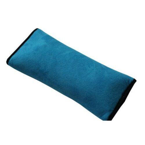 Children Car Soft Seat Belt Shoulder Pad Pillow Headrest Support Pillow Blue