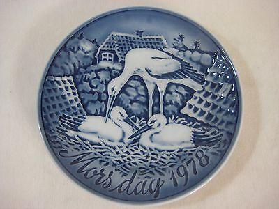 "Vintage Porcelain Plate MORS DAG 1977 /""Mother/'s Day/""  6-1//4/"" Denmark"