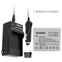 Nb-4l Battery & Normal Charger For Canon Powershot Sd780 Is, Sd940 Is,sd960 Is