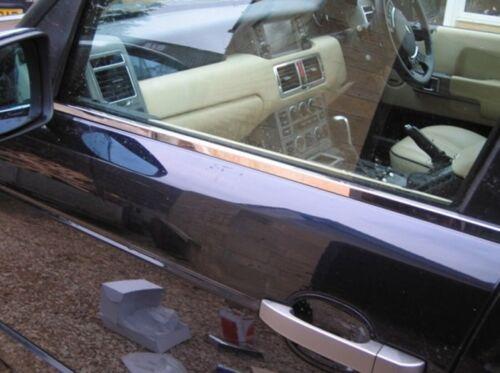 Range Rover L322 VOGUE Chrome Windows Frame Trim 6 pcs S.STEEL 2002-2012