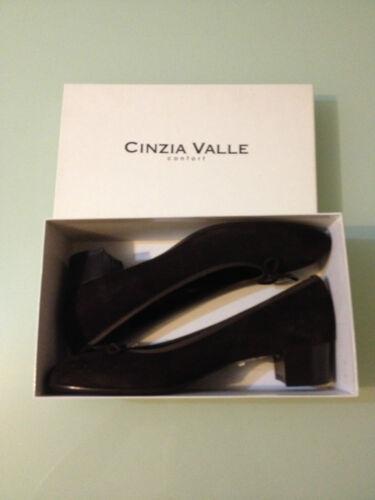 CINZIA VALLE confort DAMEN LEDER LUXUS SCHUHE GR41 made in ITALY.