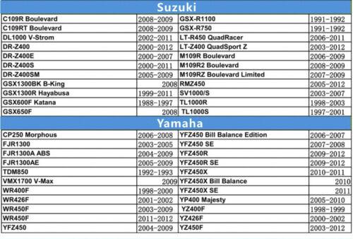 9.48mm Washer Valve Shim Kit for Honda Kawasaki Suzuki Yamaha Arctic Cat Polaris