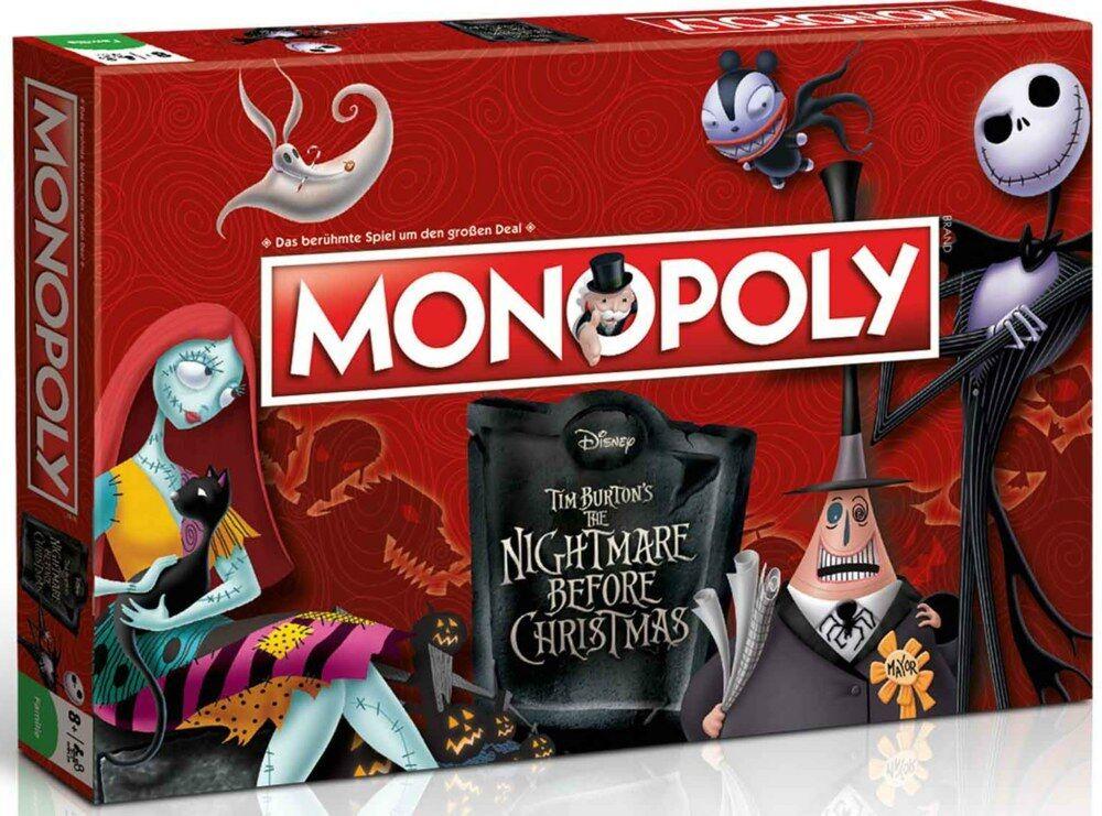 Nightmare before christmas monopol gewinnen zieht deutsche ausgabe neu - top