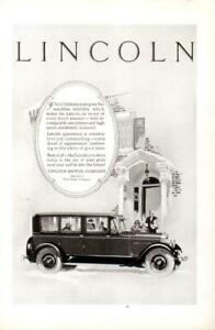 Advertising-Lincoln-Motor-Company-Ford-Motor-Company-Automobile-1926