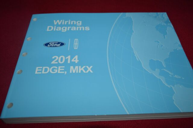 2014 Ford Edge Lincoln Mkx Dealer Wiring Diagrams Manual Mmpa