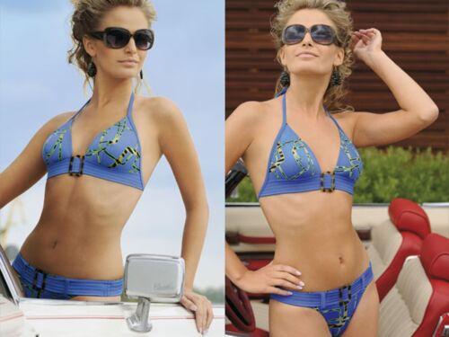 Blau in Gr Rosme Elegantes Bikini-Set 36C 38B