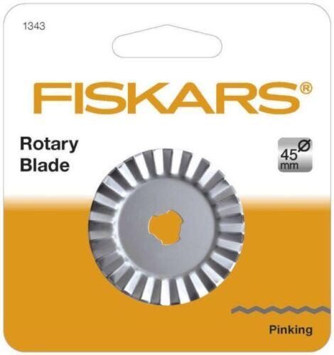 Fiskars reemplazo Cortador Rotatorio pinking 9737 Cuchillas Recto 45 mm-1343 9531P