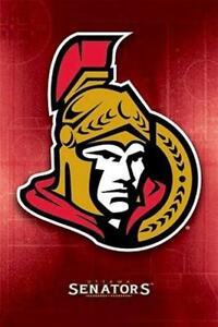 Amical Ottawa Senators ~ Patinoire Logo 22x34 Affiche Nhl National Hockey Ligue Magasin En Ligne