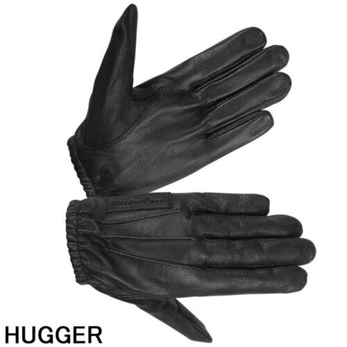 HUGGER Kevlar Lined Men/'s Police Tactical Gloves Motorcycle Bike Riding Glove