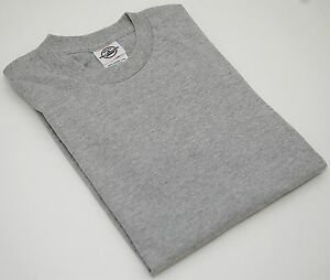81cf15e4 NEW Delta Apparel Blank GRAY Pro Weight Youth Short T-SHIRT Boys or ...
