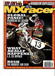 MX Racer Magazine April 1998 Motocross Supercross Honda MIke Craig Windham