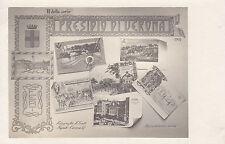 8499) PRESIDIO DI VERONA 1904 2 VEDUTE E 5 IMMAGINI DI CARTOLINE MILITARI.