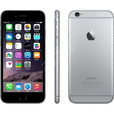 APPLE IPHONE 6S 64GB  SILVER  ACCESSORI + GARANZIA 12 MESI