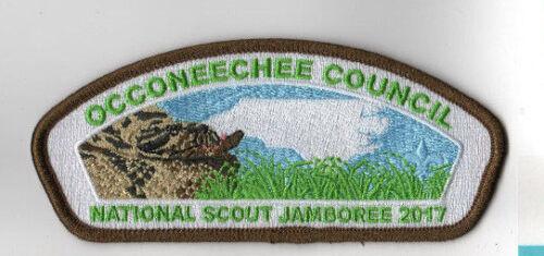 NJ813 2017 National Scout Jamboree Occoneechee Council Turtle JSP