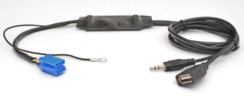 Mp3 USB adaptador AUX AUDI Chorus Concert Symphony navegación plus 1//2 RNS-D