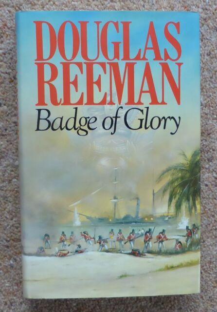 Badge of Glory by Douglas Reeman hardback/dustjacket 1st/1st 1982 Fine