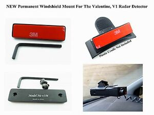 image is loading new permanent windshield mount for the valentine v1 - Valentine Radar Detector For Sale