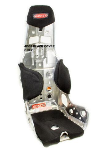 KIRKEY RACING SEAT COVER BLACK CLOTH 4PCS #58111LW COLTH TWEED BLK 58 SERIES