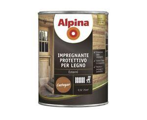 ALPINA-IMPREGNANTE-PER-LEGNO-a-solvente-LT-0-750-2-5-8-TINTE-DISPONIBILI