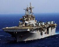 8x10 Photo: Uss Wasp, U.s. Navy Multipurpose Amphibious Assault Ship